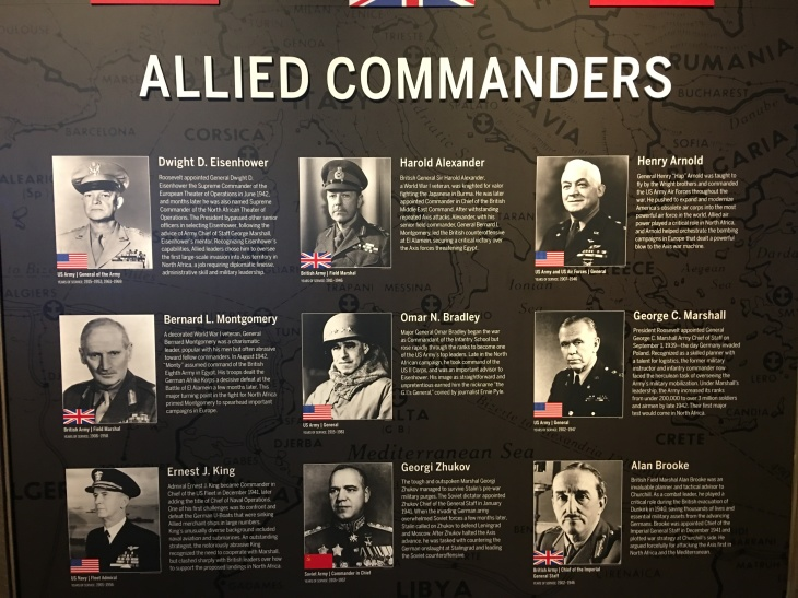 Allied coomanders